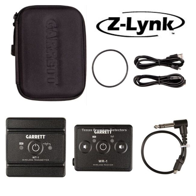 Garrett Z-Lynk Wireless System~ 6 Times Faster than Bluetooth