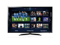 """ALMOST BRAND NEW SAMSUNG 40"""" SMART LED FULL HDTV FREE VIEW INBUILT CHANNEL"""