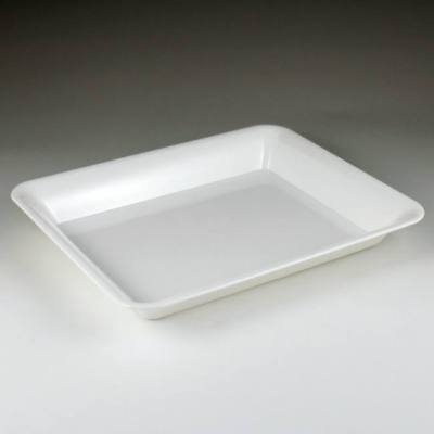 White Plastic Serving Tray 10