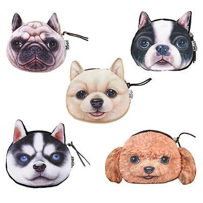 Cat Makeup For Kids (Children Kids Cute Cat Face Zipper Coin Purse Wallet Makeup Mini Bag Pouch)
