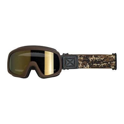 Biltwell Overland Gafas , Gafas para Moto, Desierto para Casco Jet, Antivaho