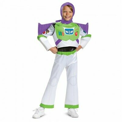 Disguise Disney Toy Story 4 Buzz Lightyear Deluxe Kinder Halloween Kostüm - Deluxe Buzz Lightyear Kostüm
