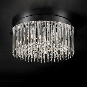 ***Crystal Icicles***Flush Mount Chandelier****SPECIAL*****