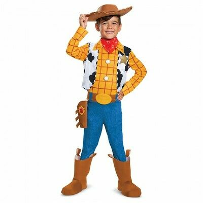 Disguise Disney Toy Story 4 Sheriff Woody Deluxe Kinder Halloween Kostüm 23641