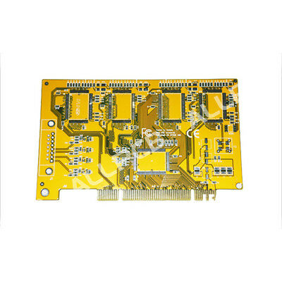 Pcb Board Manufacturer Sample Custom Pcb Prototype Paste Yellow Solder Mask