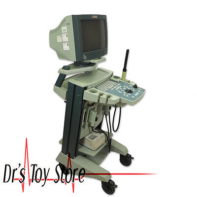 Bk Medical Falcon 2101 Ultrasound Machine With 8658t 8658s Transducer Probes