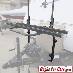 Arvika 3 Bike Rack Travel Trailer Attachment with Mount