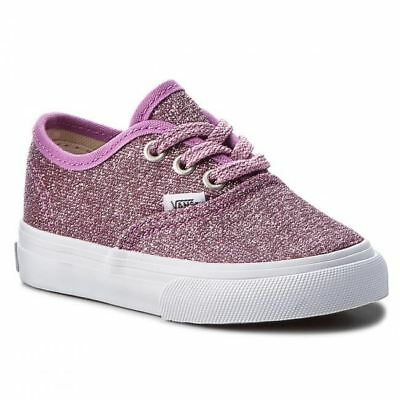 Vans Kids Lurex Glitter Trainers Infants Pink