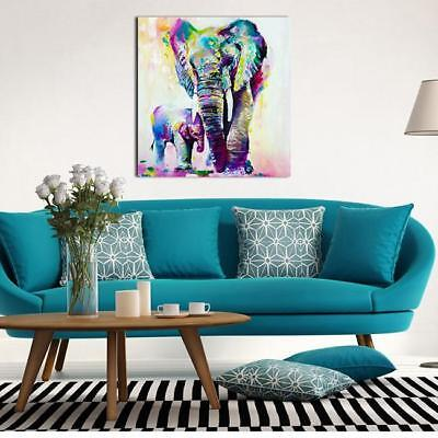 Elephant Canvas Painting Wall Art Home Office Decor For Living Room Prints L ()