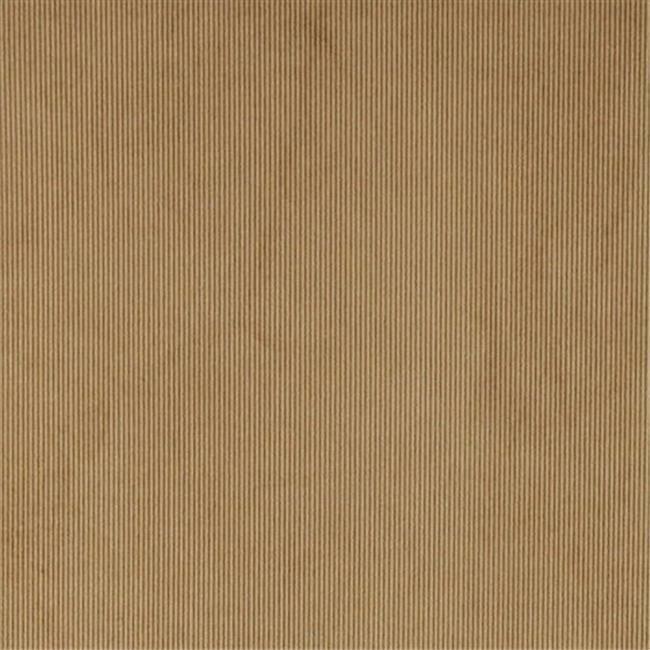 Designer Fabrics C189 54 in. Wide Tan Thin Solid Corduroy Striped Upholstery ...