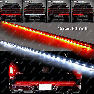 Brake Bar - 60'' Flexible 5 Function LED Strip Tailgate Bar Truck Brake Reverse Signal Light