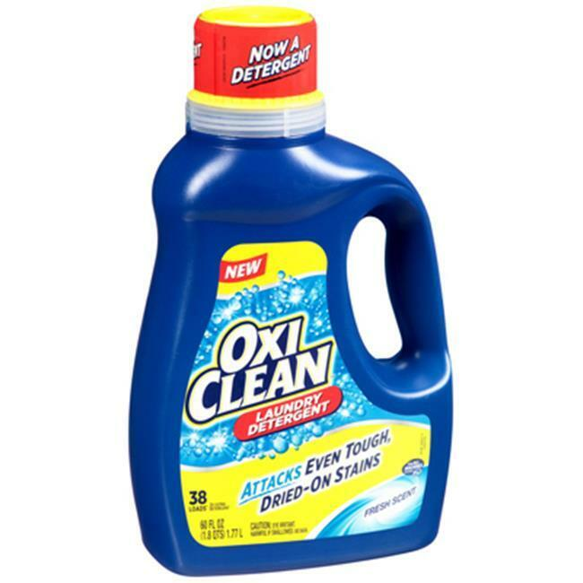 Church & Dwight 00002 60 oz. Oxi Clean Fresh Scent Liquid Laundry Detergent