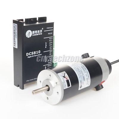 Leadshine Cnc Kit 400w 80v Dcs810 Servo Drive Dcm50205d Dc Brush Servo Motor