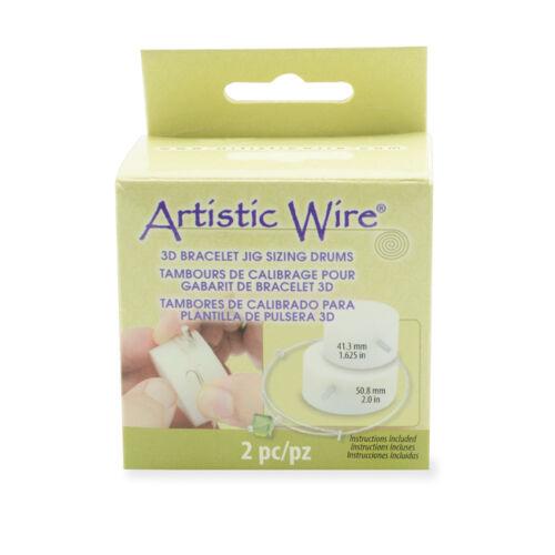 Artistic Wire 3D Bracelet Jig Sizing Drums - 2015 CHA Winner!