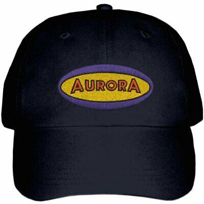Aurora Plastics logo Embroidered Hat adjustable 4 colors Model hobby building Logo Hobbies Cap