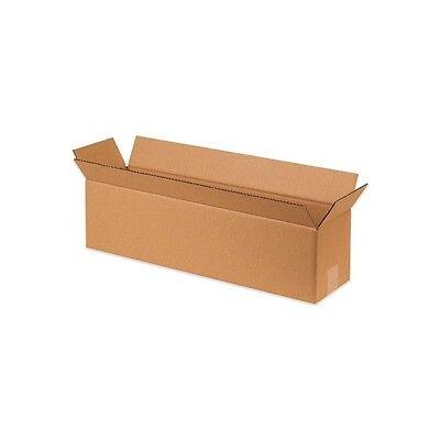 Long Corrugated Boxes 24x6x4 Kraft 25bundle