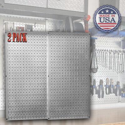 Metal Panel For Garage Tool Organization Pegboard System Mechanic Workshop Shed
