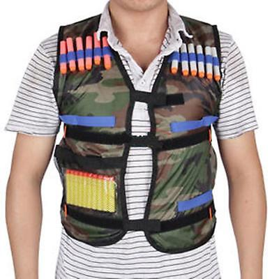 Adjustable Tactical Safety Hunting Vest with Storage Closing Pockets MA