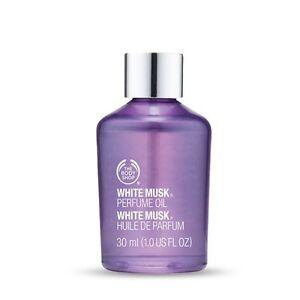 Body Shop White Musk Perfume Oil 30ml