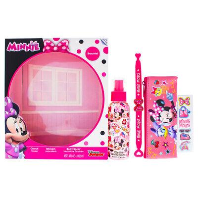 """Disney Minnie Mouse for Kids - 4 Pc Gift Set 3.4oz Body Spr"
