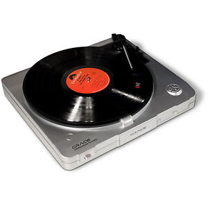Grace Digital Audio USB Recordable Turntable - NEW in box