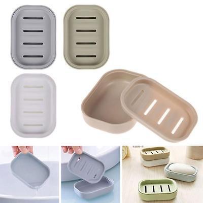 Eco-friendly Plastic Bathroom Soap Dish Plate Holder Storage Tray Case Box FM Eco Friendly Dish Soap