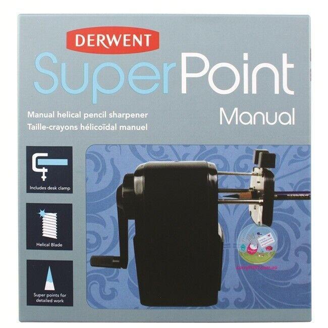 Derwent - Super Point Manual Helical Pencil Sharpener (2302001)
