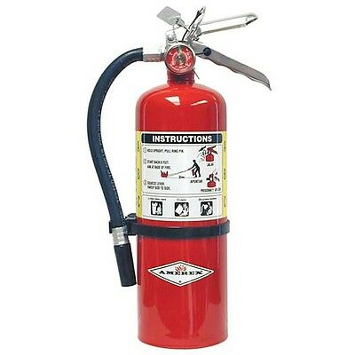 Amerex B500 5lb Abc Dry Chemical Class A B C Fire Extinguisher