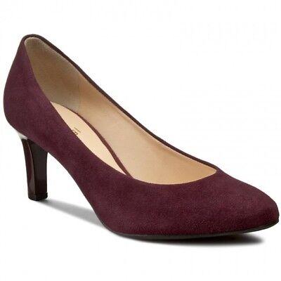 Hogl Ladies Shoes Heels Size 6.5 Colour Bordeau