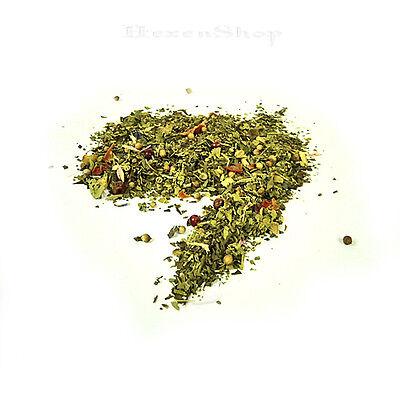 Wacholderbeeren Tee (Frauentee 100g Kräutertee Tee Kräuter Angelikawurzel Wacholderbeeren Kardamom)
