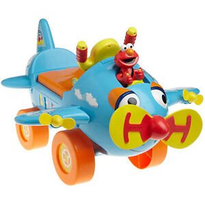 Sesame Street Fly with Elmo Activity Ride-on Toy, used in great