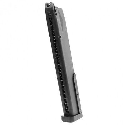 Used, KWA M9 PTP and M93R Extended NS2 Hi-Cap GBB Airsoft Magazine 48 Rounds 197-01103 for sale  Duarte