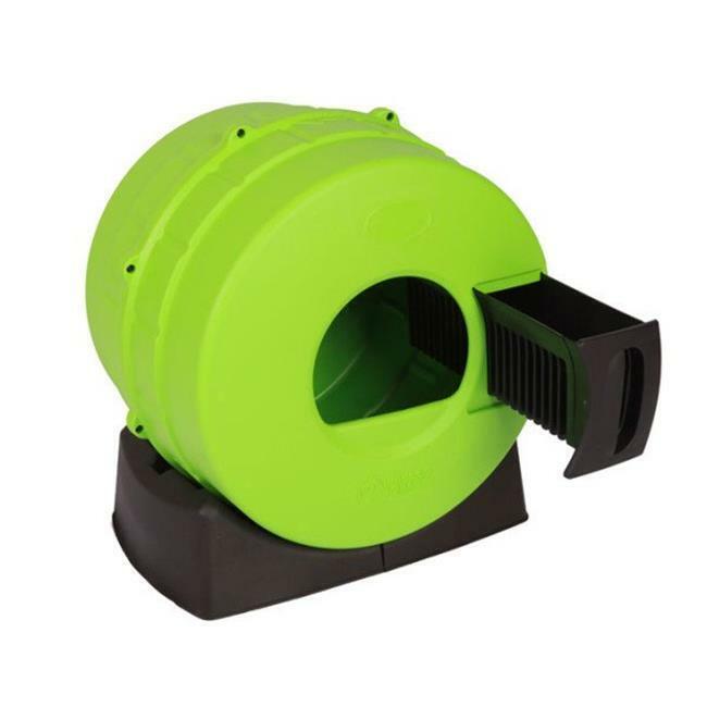 Smart Choice Pet Products 3088 Litter Spinner Cat Litter Box Green