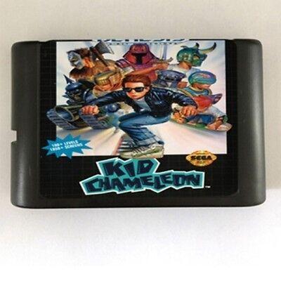 Kid Chameleon 16-Bit Fits Sega Genesis Mega Drive Game  comprar usado  Enviando para Brazil