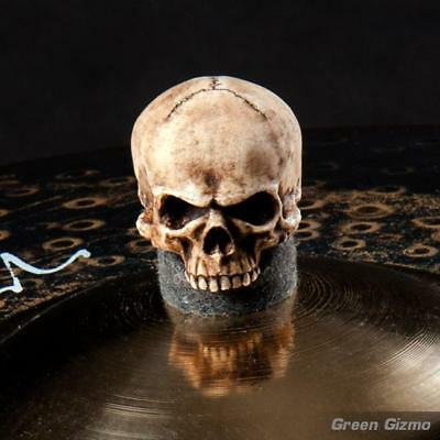 Large grim skull cymbal topper (Black Cymbal)