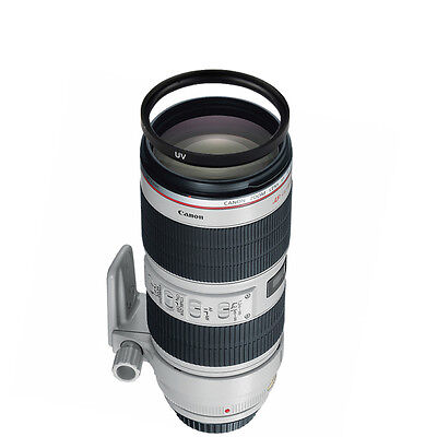 Canon EF 70-200mm f/2.8L IS II USM Telephoto Zoom Lens w/77mm UV Filter