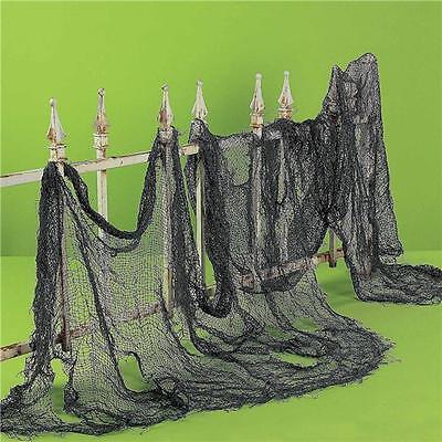 Halloween Black Spooky Cloth Gauze Drape Party Decorations Accessories Jian](Spooky Halloween Party Decorations)