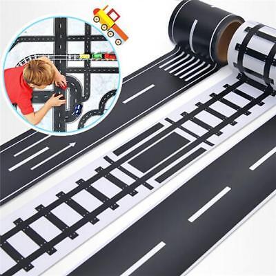Kinderauto Road Klebeband  Play Room Floor Sticker Abnehmbare Schienenspielzeug ()