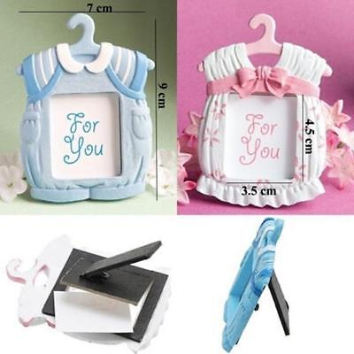 Cute Girl Baby Shower Themes (Cute Baby Themed Photo Frame Baby Shower Favors Girl Boy Pink Blue)