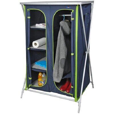 Camping Bel Sol Armario Plegable Despensa Armario Vestidos XXL Azul-Verde