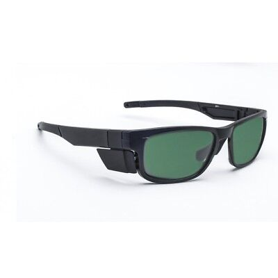 BoroView Shade #3 - Glass Working Spectacles in Unisex Plastic Safety Frame -