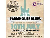 Farmhouse Blues - Volunteers Needed (Free Ticket!)