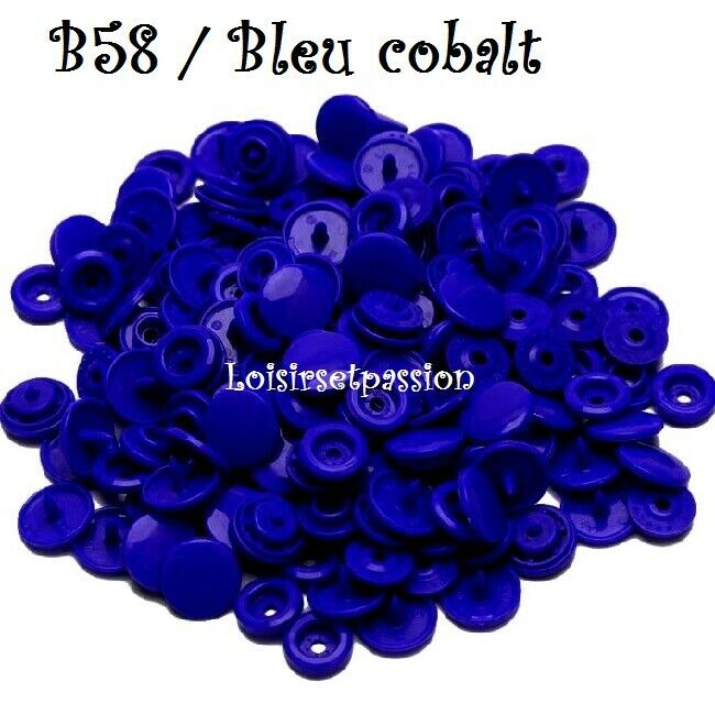 Couleur B58 / BLEU COBALT