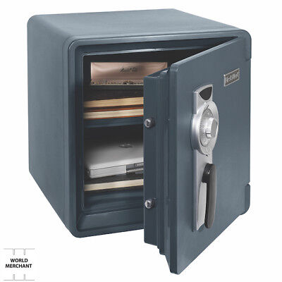 Fire and Waterproof Safe Guns Small Personal Hidden Combination 1.3 cu.ft. 2092F