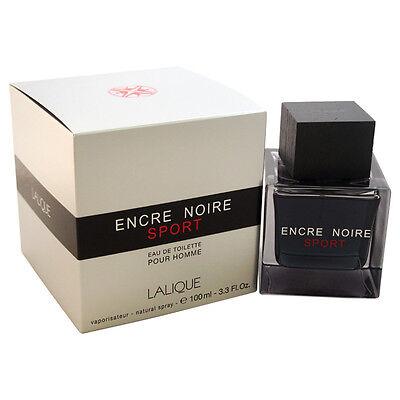 Encre Noire Sport by Lalique for Men - 3.3 oz EDT Spray