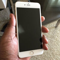 IPhone 6 plus white two months old - excellent condition -