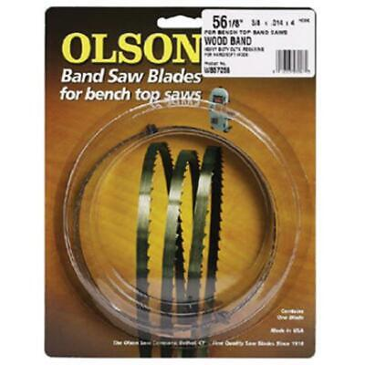 Olson Saw 55359 6 Tpi Bench Top Band Saw Blade 0.25 Wide X 59.50 Long In.