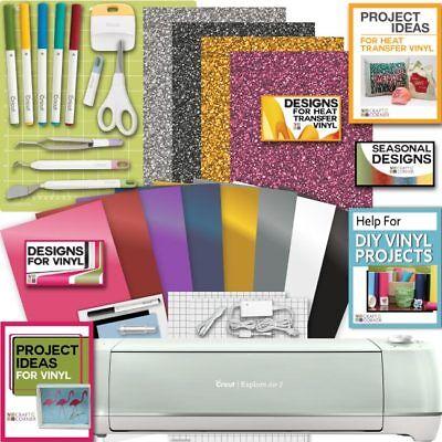 Cricut Explore Air 2 Machine Bundle Heat Transfer  Vinyl Pack  Tools Pen Design