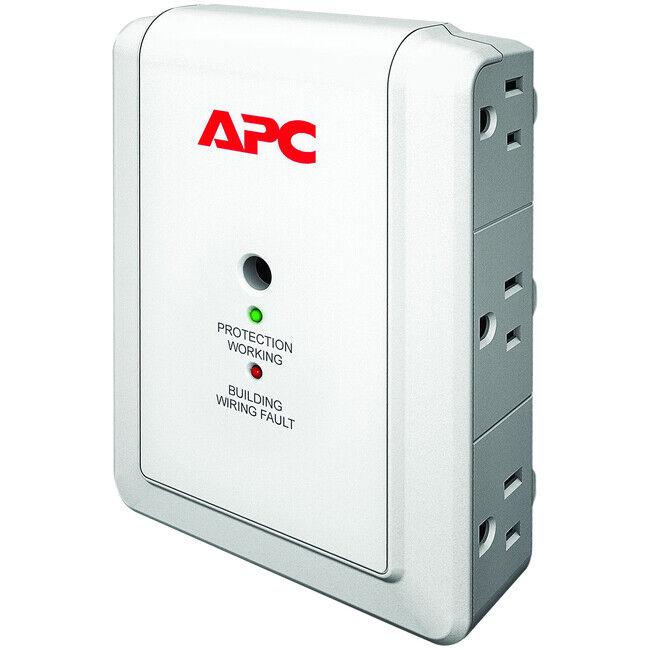 APC by Schneider Electric SurgeArrest Essential P6W 6-Outlets Surge Suppressor
