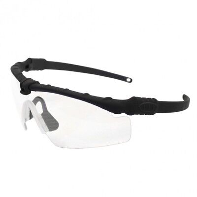 689a04d924 Bravo Tactical Eye Pro Airsoft Shooting Safety Glasses - BLACK   Clear